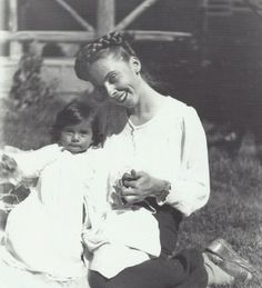 Romana with baby Sari