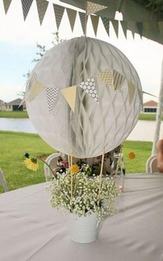 baby shower decorations 581597739362193679 - Diy Baby Shower Decorations Centerpieces Air Balloon 34 Ideas Source by Baby Shower Decorations Neutral, Boy Baby Shower Themes, Baby Shower Balloons, Baby Boy Shower, Baby Balloon, Hot Air Balloon Centerpieces, Diy Hot Air Balloons, Baby Shower Table Centerpieces, Masquerade Centerpieces