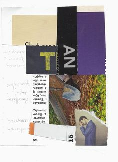 Keith Higginbotham untitled (collage on paper) 2014