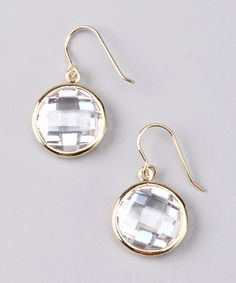 Take a look at this NYLA STAR Gold Sarah Earrings by NYLA STAR on #zulily today!