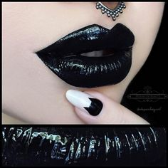 Christina is a magnificent makeup artist, gifted with an edgy flair for glam. More goth makeup: http://blog.furlesscosmetics.com/depeche-gurl/