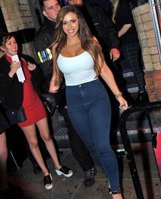 Working it: Holly Hagan made sure to showcase her newly-svelte physique in all its glory as she enjoyed a night out 'on the Toon' in Newcastle on Thursday
