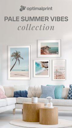 #artprints #posters #walldecor #wallart #poster #frames #interior #inspiration #summer #blue #beach #tropical