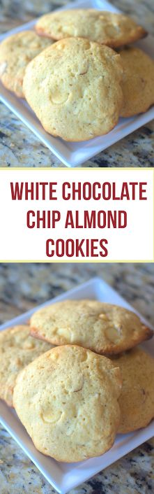 Why You Must Try This White Chocolate Chip Almond Cookie!