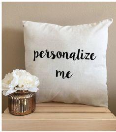 Custom Throw Pillows Personalized Throw Pillows 18 x 18 Pillow Decorative Pillows Wedding Pillow Fun Throw Pillow Unique Custom Pillows - MORE than excited for Moore Street - Gold Pillows, Throw Pillows, Apartment Therapy, Miraculous, Modern Decorative Pillows, Living Room Decor Pillows, Turquoise, Interiores Design, Custom Pillows