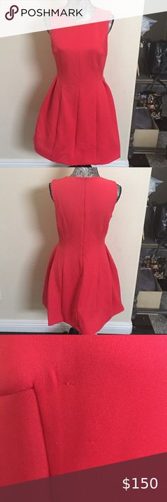 Calvin Klein Women's Sleeveless Fit & Flare Dress Round neck, mid-length formal dress. Excellent condition and beautiful coral color. Wore once to a wedding. Fit And Flare, Fit Flare Dress, Calvin Klein Red, Calvin Klein Women, Plus Fashion, Fashion Tips, Fashion Design, Fashion Trends, Coral Color