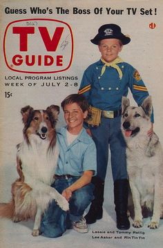 Lassie and Rin Tin Tin - TV Guide - July 2-8, 1955 | Flickr - Photo Sharing!