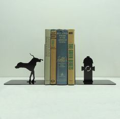 Fire Hydrant Bookends; eclectic accessories and decor by Etsy