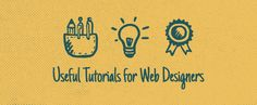 5 Useful Tutorials for Website Designers With so many options floating around the 'net, choosing the best can be difficult. So, here are five of the best web design tutorials to help you cut through the code and hone a new skill with plenty of time leftover to make some unique icons. Beginner's Guide to Responsive Web Design: How to Create Flat Style Breadcrumb Links in CSS How to Make an HTML5 iPhone App Thumbnail Hover Effects A Backwards Compatible HTML5 Portfolio