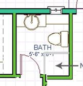 Powder room turned full bath part III - the reveal great layout