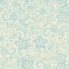 Papel de parede adesivo - Estampa floral