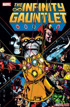 The Infinity Gauntlet by George Perez