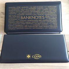Альбом для хранения кол лекционных банкнот. Храните аккуратно свои коллекции