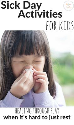 Activities for kids that promote healing while sick! Indoor Activities For Toddlers, Rainy Day Activities, Toddler Learning Activities, Ways Of Learning, Learning Through Play, Stem Activities, Terrible Twos, Toddler Play, Raising Kids