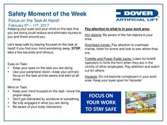 Focus on the Task At Hand! Alberta Oil Tool's Moment of the Week Fire Safety Poster, Health And Safety Poster, Safety Posters, Teamwork Quotes, Leader Quotes, Leadership Quotes, Safety Moment Ideas, Workplace Safety Topics, Safety Talk
