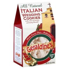 Geraldine's Cookies, Italian Wedding, I want fresh ones if I get married these are my favorite and will probally be the one thing I must have fresh. That and fig cookies like my grandmother would make. MOMMA ITS GOT YOUR NAME !!!!!
