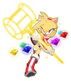 Super Amy Seven Chaos Emeralds wooooow so coolll Sonic The Hedgehog, Hedgehog Art, Silver The Hedgehog, Shadow The Hedgehog, Amy Rose, Sonic Fan Characters, Video Game Characters, Pyssla Pokemon, Sonic Y Amy