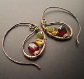 Earrings| Unique KreationsEarrings Black & Gold Paisley Leaf Hoop Earrings 25% off with code HOLIDAY25 until 12/13