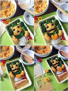 Cuisine Paradise | Singapore Food Blog - Recipes - Food Reviews - Travel: [i-Love Mama Healthy Meal]  - Steps to assemble the i-Love Mama Bento