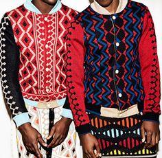 Pattern Culture --- MaXhosa by Laduma AW2014 #pattern #jacket