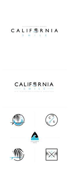 Logo design contest winner / California smile   99 designs