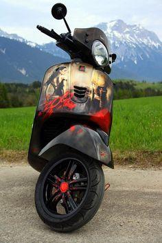 Lenkerendenblinker, Kellermann BL 2000, Modern Vespa Piaggio Vespa, Lambretta Scooter, Vespa Scooters, Vespa Tuning, Vespa Super, Moto Cafe, Scooter Parts, Cool Bikes, Bobber