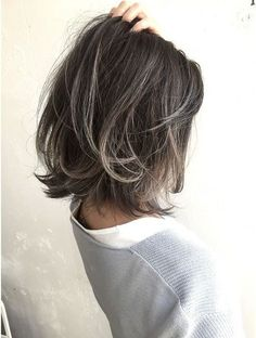 Here are 20 trendy short haircuts for fine hair - Dazhimen Medium Hair Styles, Curly Hair Styles, Bobs For Thin Hair, Bob Hairstyles For Fine Hair, Trendy Hairstyles, Short Hair Cuts, Hair Trends, Hair Goals, Hair Inspiration
