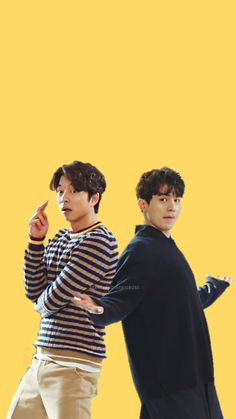 Gong Yoo And Dong Wook