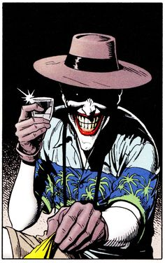 "comicbookvault: ""Joker by Brian Bolland THE KILLING JOKE (Mach 1988) """
