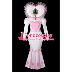 adult baby sissy maid PVC dress Fishtail lockable Tailor-made[G2397]