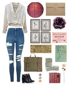 """""""Classical"""" by alyroxmaxxx ❤ liked on Polyvore featuring Topshop, Chanel, WALL and Shabby Chic"""