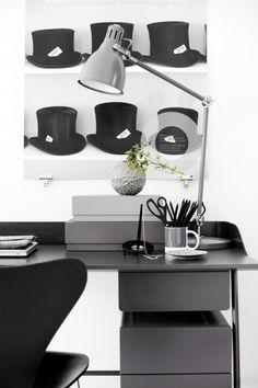 Espacios de trabajo en Blanco y negro