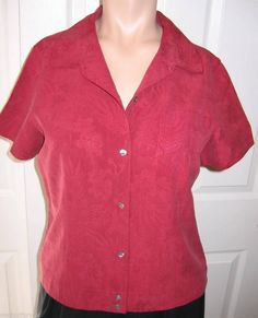 Tommy Bahama Silk Blouse 4 55