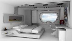 great art deco master bedroom %E2%80%93 by ace   sci fi room   Master Bedroom ideas in 2019   Futuristic ...