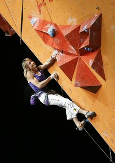 Angy Eiter: 6 times Rock Master and 4 times World Champion ... We Salute!