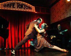 Sensual tango presentation in Cafe Tortoni, #Buenosaires.