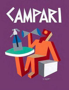 Fortunato Depero, 1928, Campari.