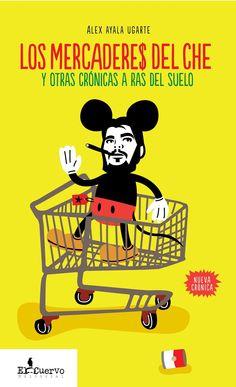 """#PERIODISMO #LIBRO - LOS MERCADERES DEL CHE by Álex Ayala. ¿Es un buen negocio haber conocido al Che? ¿Quiénes son los jubilados que vigilan una estatua de Lennon en La Habana? ¿Quién es el hombre que viste a Evo Morales? El periodista Álex Ayala responderá a éstas y otras preguntas en un libro de no ficción que pretende imprimir con vuestra colaboración. """"Sin reportería sólo habría humo""""  CAMPAÑA: http://www.verkami.com/projects/1139  CONSÍGUELO: http://editorialelcuervo.blogspot.com.es/"""