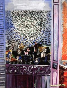 The Window Artwork by Raoul Dufy Hand-painted and Art Prints on canvas for sale,you can custom the size and frame