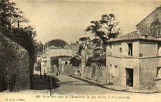 Rues de l´Abrevoir y Saules. Montmartre. Paris , ca. 1900