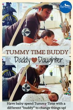 Nothing like a little daddy-daughter Tummy Time! 😍 Try to make Tummy Time into a social affair! Make interactions fun and new by having different people do Tummy Time with baby – be it dad, mom, siblings, or grandparents. Find more Tummy Time tips for success when you click on this link! 📷: @girldad_diaries #TummyTime #babydevelopment #baby #daddydaughter #tummytimetips #tummytimeideas #tummytimefun #occupationaltherapy #babyactivities Get Baby, Baby Love, Shoulder Muscles, Daddy Daughter, Core Muscles, Baby Development, Songs To Sing, Tummy Time, Baby Needs