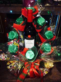 Chocolate wine bouquet