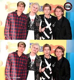 5sos at the KCA's tonight