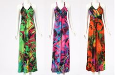 New Womens Summer Sexy Beach Holiday Graphic Printed Maxi Long Dress Celeb Style £18.99