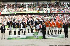 Eventing Jumping - Team Podium - August 31th - Copyright : PSV Photo