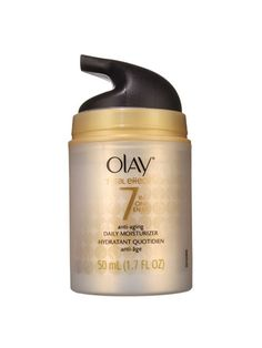 Skin Care: Olay Total Effects 7-in-1 Anti-Aging Daily Moisturizer - really hope this works as I've been using it for 2 years!!