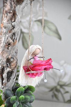 Keiju -tarvikepaketti | Tuulia design. Tekemisen iloa sinulle. Bird Feeders, Christmas Ornaments, Holiday Decor, Outdoor Decor, Diy, Design, Home Decor, Decoration Home, Bricolage