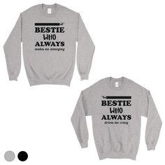 Bestie Always Unisex BFF Matching Sweatshirts  Best Friend Gift