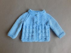 Ravelry: Little Charlie Baby Jacket & Hat pattern by marianna mel