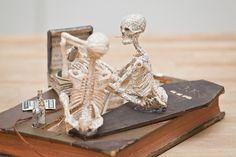 anonymous book sculptures found in Edinburgh